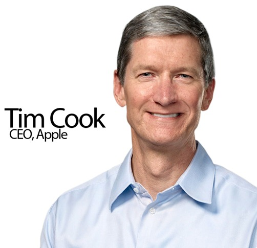 Tim Cook: 530 Millionen US-Dollar - reichster CEO der USA