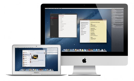 WWDC 2012: OS X Mountain Lion mit iCloud, Notification Center, Power Nap, Diktierfunktion, ... (Foto: Apple)