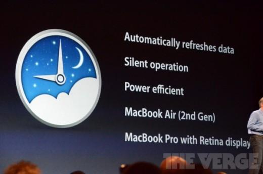 Mac OS X 10.8 Mountain Lion mit PowerNap: MacBooks synchronisieren sich im Schlafmodus