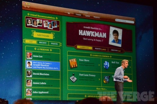 Mac OS X 10.8 Mountain Lion: GameCenter verbindet Mac mit iPhone, iPad & Co.