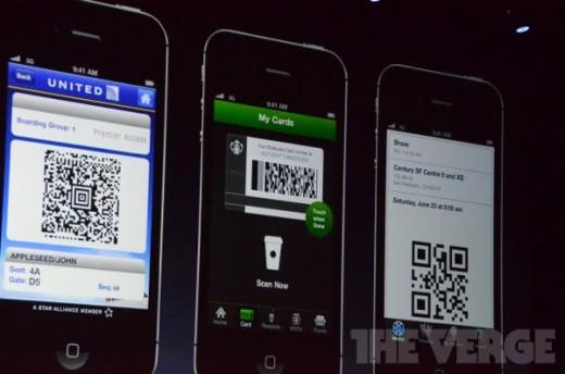 Die Passbook-App auf einen Blick