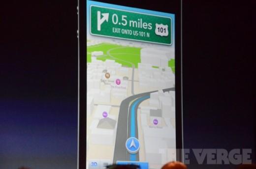 WWDC 2012: Apples Kartendienst wird Wirklichkeit