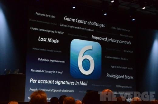 iOS 6 bringt Zahlreiche neue Features