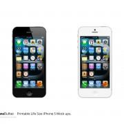 iPhone 5: Neues, realistisches Mockup auf Basis der Schemazeichnung