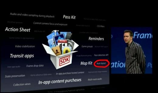 iPhone 5: Bestätigt das Auto Layout Feature in iOS 6 ein größeres Display?