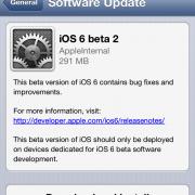 iOS 6.0: 2. Betaversion für Entwickler