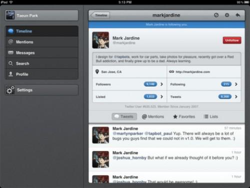 Tweetbot für Mac OS X: Erster Screenshot aufgetaucht