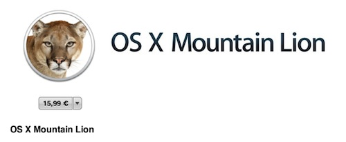 OS X 10.8.1 Mountain Lion Beta (Build 12B17) von Apple als Download freigegeben