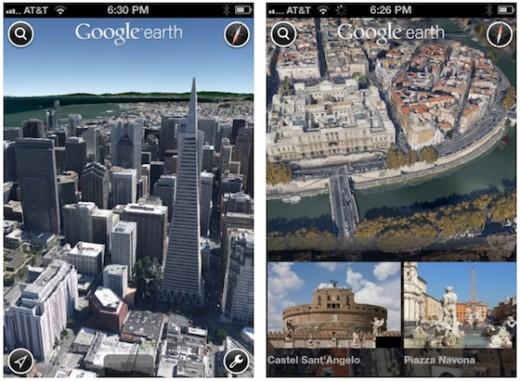 iPhone und iPad: Google Maps kommt in 3D