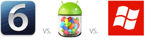 iOS 6, Android 4.1 Jelly Bean und Windows Phone 8: Wer kann was?