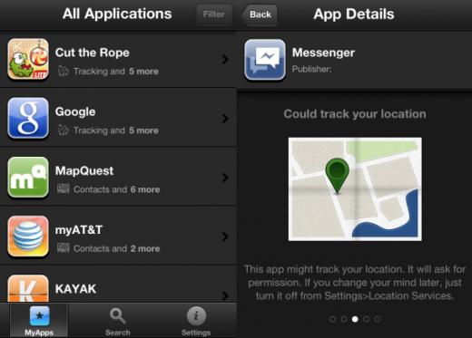 iOS Sicherheit: Jede 5. App greift auf Adressbuch zu, jede 2. kann Ortsdaten abfragen