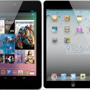 iPad Mini Mockup vs. Nexus 7
