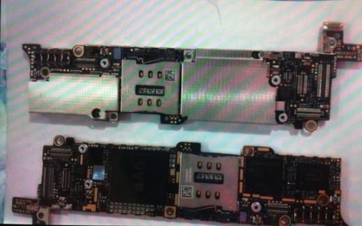iPhone 5: Logic Board zeigt A6-Chipsatz