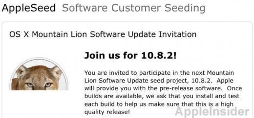 Mountain Lion: Update 10.8.2 angekündigt