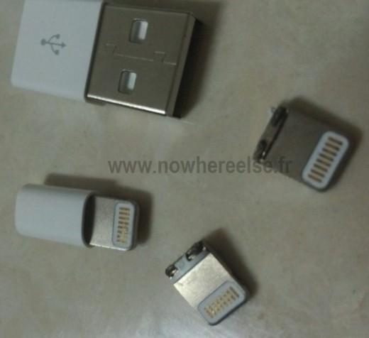 iPhone 5 Dock-Connector: Fotos geleakt
