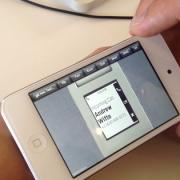 Pebble Preview: Vorschau auf Benutzeroberfläche der Smartwatch - eingehender Anruf