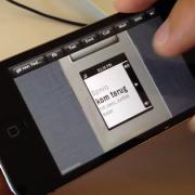 Pebble Preview: Vorschau auf Benutzeroberfläche der Smartwatch - Musik-Steuerung