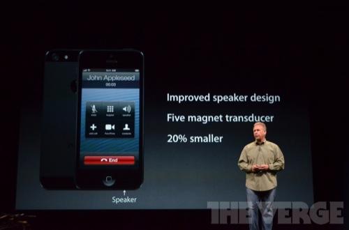 iPhone 5: 3 Mikros, bessere Lautsprecher und Rauschunterdrückung