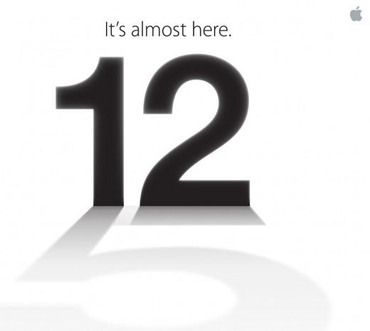 iPhone 5: Apple bestätigt Keynote am 12. September 2012