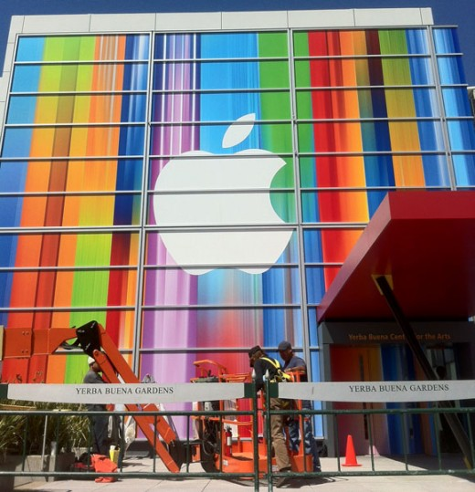 Apple Media Event: Buntes Wirrwarr zeigt Apps