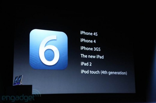 Apple iOS 6: Download wird am 19. September 2012 freigegeben