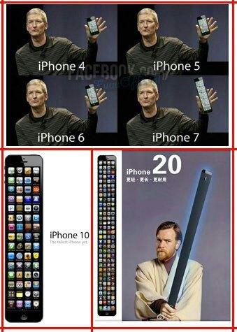 iPhone 20: Wenn sich der Trend mit dem längeren iPhone hält [Fun]