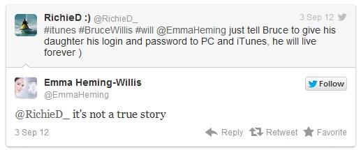 Apple vs. Willis: iTunes-Accounts vererben?