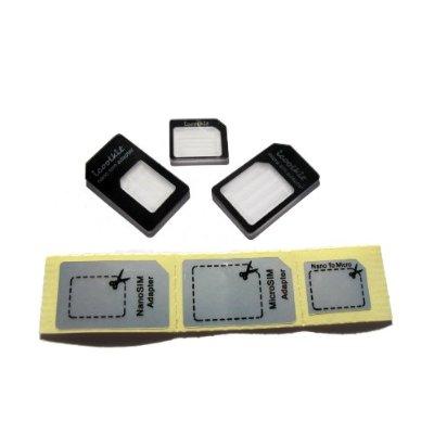 iPhone 5 Nano-SIM: Adapter für iPhone 4 & 4S