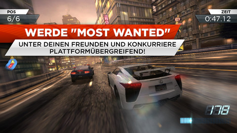Need for Speed: Most Wanted - iOS-Version als Download verfügbar