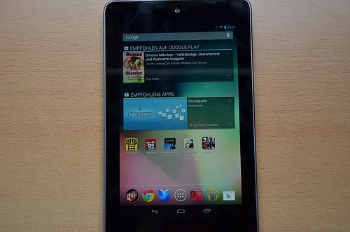 Google Nexus 10: Release am 29. Oktober 2012?