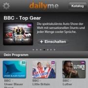 App Review: Dailyme - kostenlos fernsehen am iPhone/iPad, immer und überall