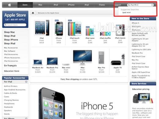 iPad mini & iPhone 8: Apples Webseite lässt tief blicken