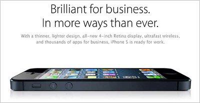 iPhone vs. BlackBerry: Apple schlägt RIM im Business-Segment