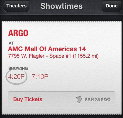 iOS 6.1 Update: Siri kauft Kinokarten