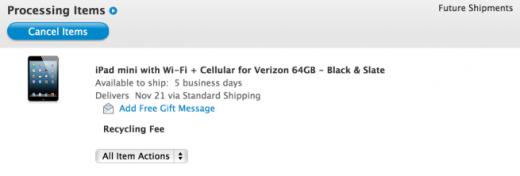 iPad mini LTE: Apple Store listet Verkaufsdatum