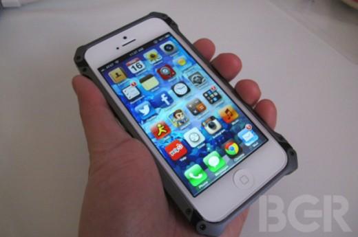 iPhone 5 Case: Sector 5 ist aus Raumfahrt-Aluminium