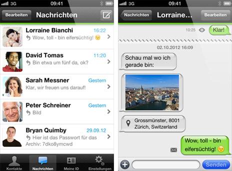 """WhatsApp-Alternative für iOS: """"Threema"""" kommt mit sicherer Verschlüsselung"""