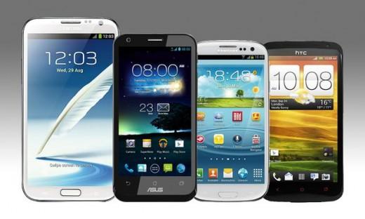 Apple & Samsung dominierten den Smartphone-Markt 2012