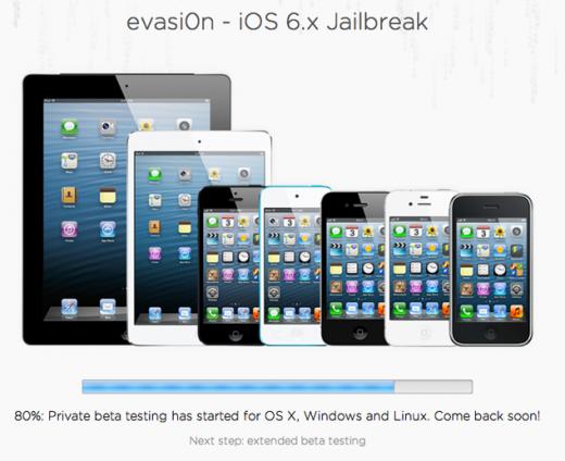 iOS 6 Untethered Jailbreak: Evasi0n-Team bei 80 Prozent