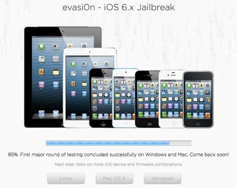 iOS 6 Untethered Jailbreak: 85 Prozent von Evasi0n fertiggestellt