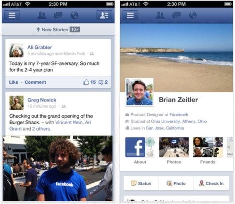 Facebook 5.5: iOS-App erhält Neuerungen