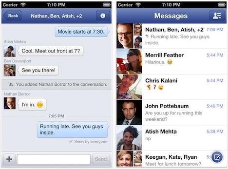 Facebook Messenger 2.3: Leichte Verbesserungen durch Update