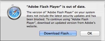 Safari: Apple blockiert ältere Version des Flash-Plugins