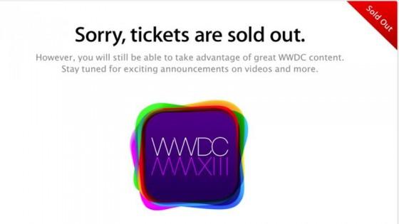 WWDC 2013: Tickets nach zwei Minuten ausverkauft