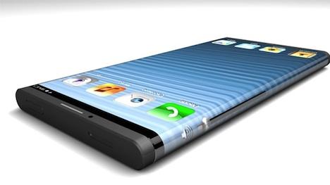 iPhone 5S / iPhone 6: Konzept mit abgerundeten Ecken aufgetaucht