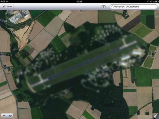 Apple Maps: Bundeswehr-Standorte wurden verpixelt