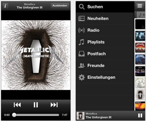 Napster & Spotify: iOS-Apps erhalten Update