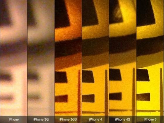 iPhone bis iPhone 5: Kamera-Vergleich der Generationen
