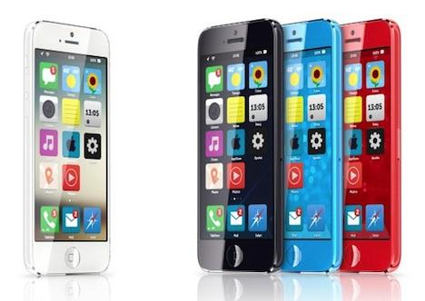 Billig-iPhone & iOS 7: Konzept im Metro-Stil
