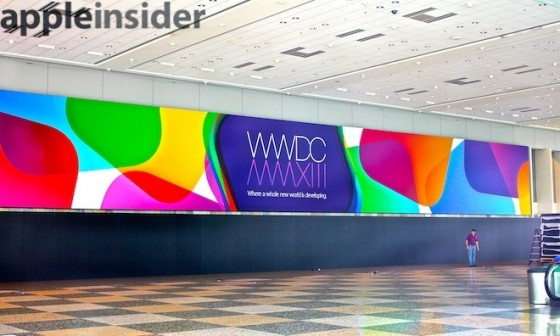 "WWDC 2013: ""Where a Whole new World is Developing"" Banner aufgetaucht"